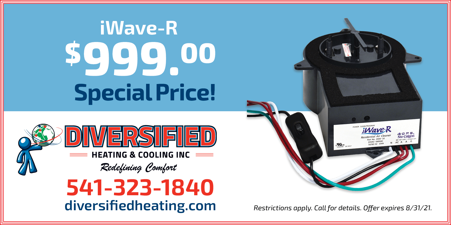 special offer from Diversified